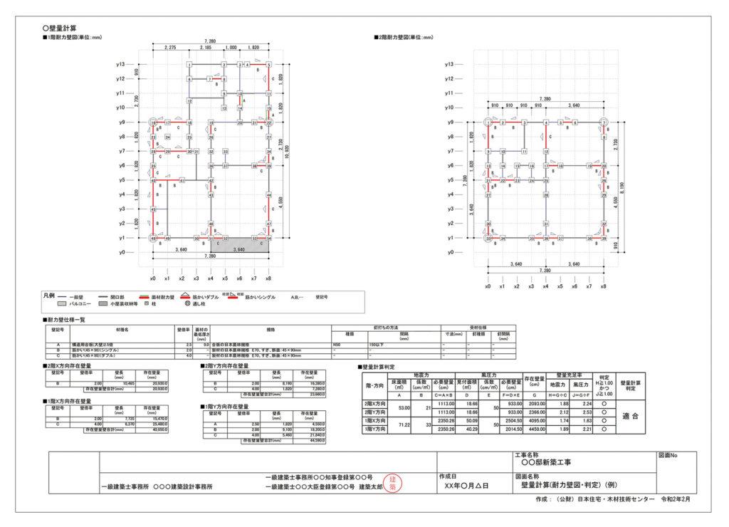 改正建築士法図面