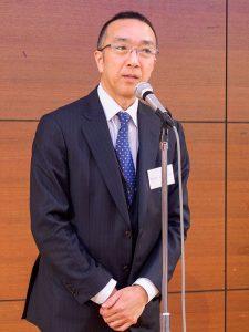 新会長の首藤一弘さん(丸三ホクシン建設社長)